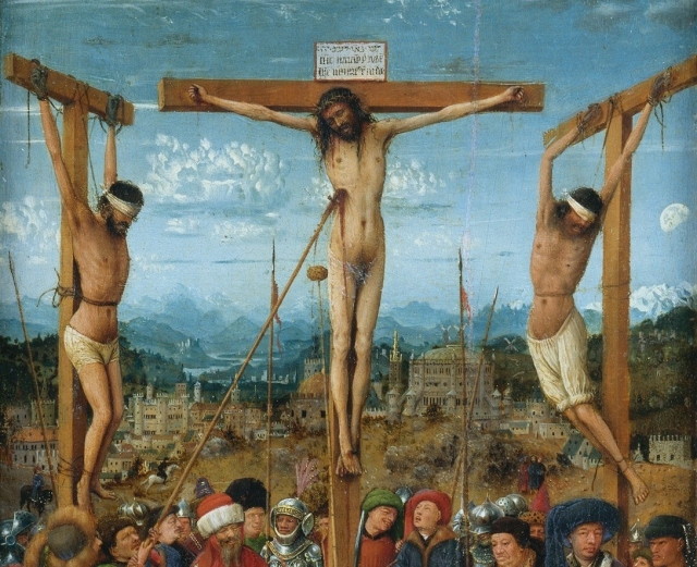 korsfastning-Jan_van_Eyck_-_Diptych_-_WGA07587_crop_of_the_crucified_Jesus